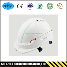 ABS Industrial construction Safety Helmet with chin strap