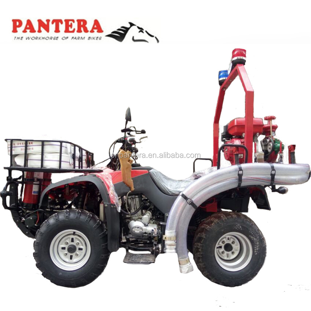 Fire fighting ATV quad bikes 250cc with fire extinguisher water mist extinguisher