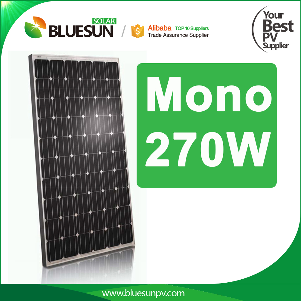 High quality chinese solar panels for sale mono 60 cells 260w 270w 280w 290w