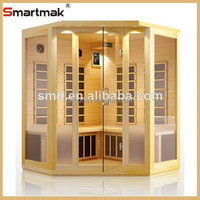 smartmak 2015 china supplier new products health care supplies wood home design infrared sauna rooms