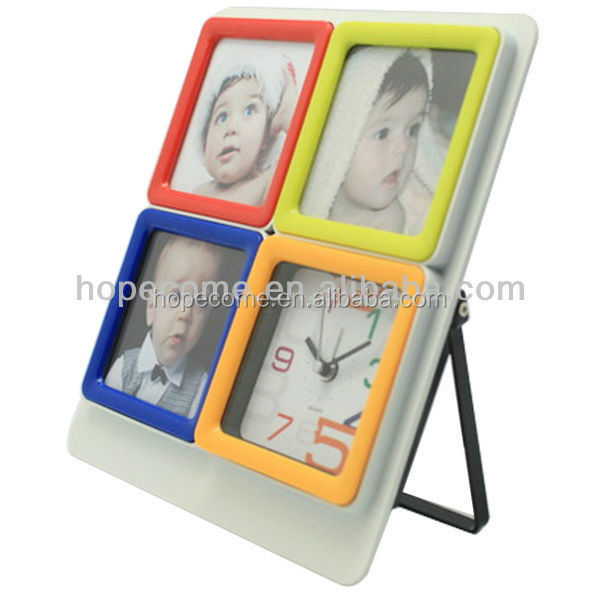 2016 Fashion Souvenirs Photo Frame Insert Flexible Photo Frame Desk Clock