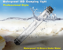IP68 waterproof powerful led torch light/rechargeable camping led lantern