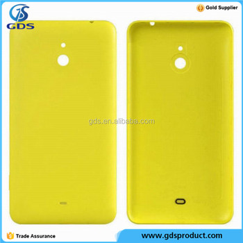 Yellow Back Rear Housing Cover Battery Door Case For Nokia Lumia 1320
