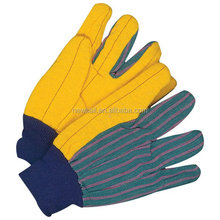 NEWSAIL Premium Flannel yellow Chore Gloves cotton garden gloves Hot mill chore