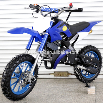 New Kids Super Motocross Dirt Bike 49cc Motorcycle with Alloy Pull Start