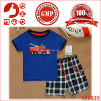 2015 cheap baby clothes for boy new brand wholesale boy clothing sets caters baby boy casual clothes