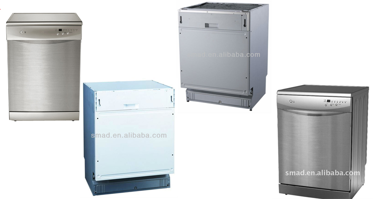 kitchen appliance freestanding dishwasher in dubai with CE/GS/EMC