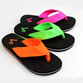 Colorful hot selling woven fabric strap flip flops