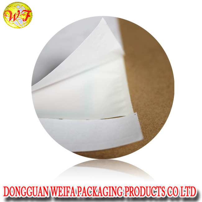 self adhesive backed ziplock mailer/adhesive packing slip bag plastic envelope internet waybill pouch