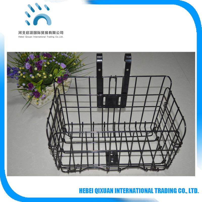 Folding Bicycle Front Basket/Removable bicycle basket wholesale