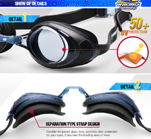 Made in China UV resistance anti-fog comfortable cheap price swim goggle
