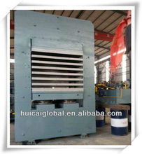 Rubber o-ring vulcanizing press machine