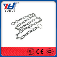 High Quality Electro Galvanized Dog dog choke chain