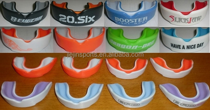 Multicolor LOGO Custom Printing Boxing Mouth Guard For MMA