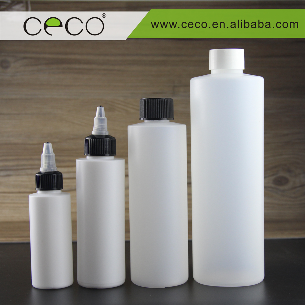 big HDPE bottles for PG VG mixed liquid plastic bottle with twist cap