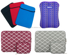 high quality hot sale fashion Fashion neoprene laptop bag case sleeve/tablet sleeve pouch with logo