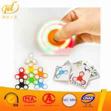 LED Light Hand Finger Spinner Fidget Plastic EDC Hand Spinner For Autism And ADHD Relief Focus Anxiety Stress Toys