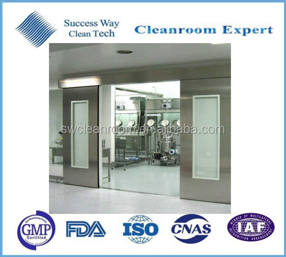 Stainless steel door with GMP