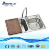 super single rims stainless steel foot bath sink unit