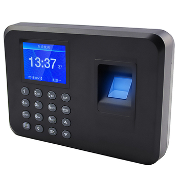 factory popular fingerprint system machine price time attendance device