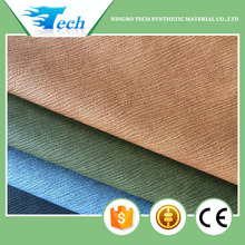 2017 pu synthetic leather soft hand feeling leather material for clothes garment leather