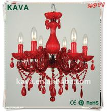 The best red wedding crystal chandelier