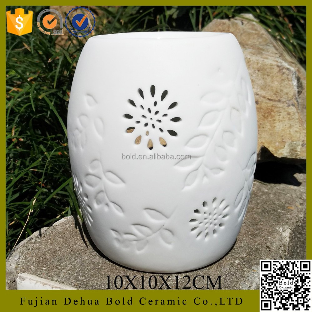 best selling products ceramic oil burner diffuser with tealight candle