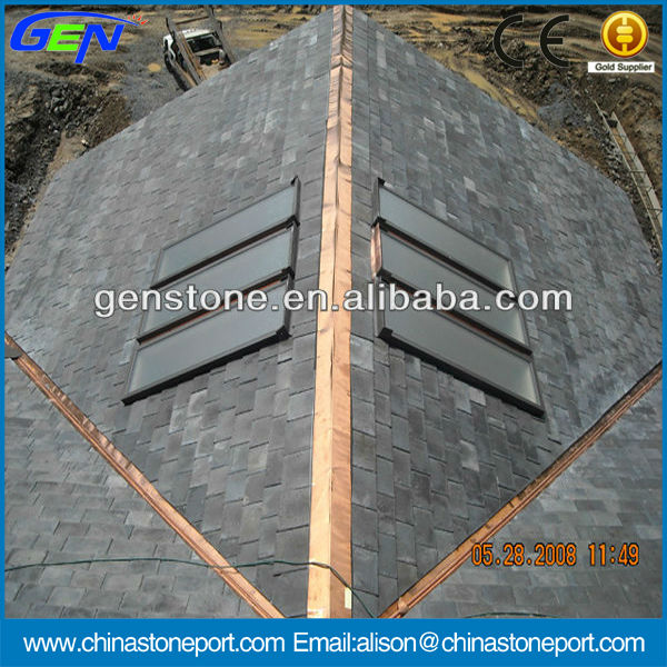 Hottest Sale Grey Flat Roofing Tile