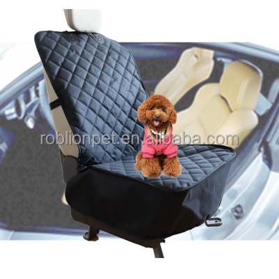 RoblionPet Quilted washable dog hammock car seat cover pet front seat cover