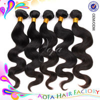 100% virgin unprocessed highest quality jazz wave hair extensions