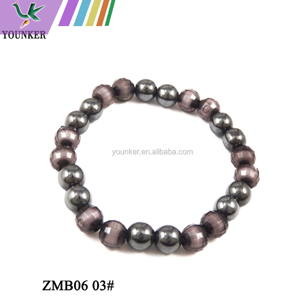 Genuine Wide pain releif Hematite Powerful Magnetic Bracelet for man