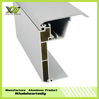 New style upvc profile for fabric section extrusion profiles