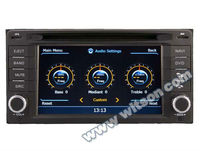 WITSON IMPREZA dvd player car gps navigation system with Auto Rear Viewing Function