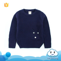 Best selling kids plain names sweater for boys good quality long sweater oem alibaba children clothes