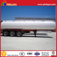46000Liters Fuel Oil Transport Steel Tank