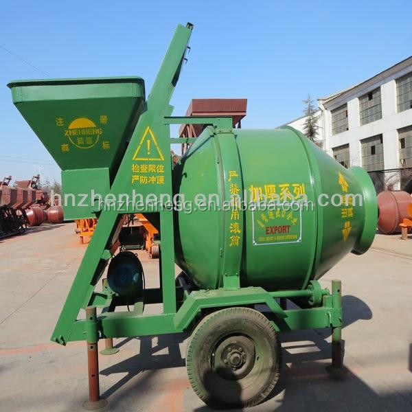 350L discharging volume belle concrete mixers