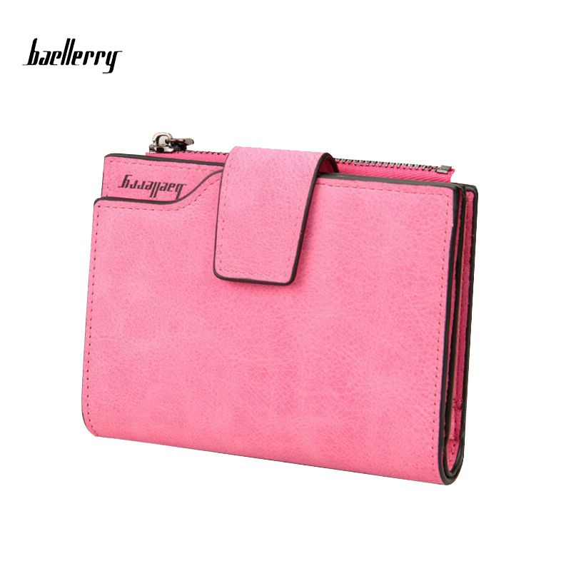 Wholesale baellerry fashion colorful soft pu leather lady wallet