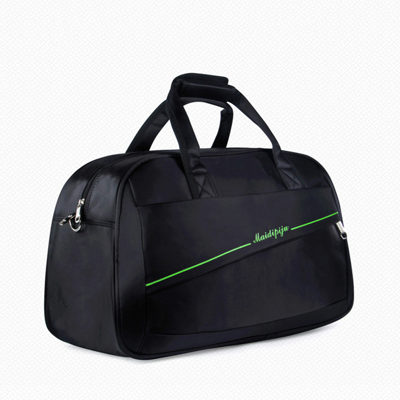 Extra Large Fold Up Gym Duffle Bag with Shoe Compartment