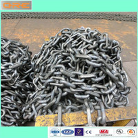 Heavy duty machine loading scraper conveyor chain
