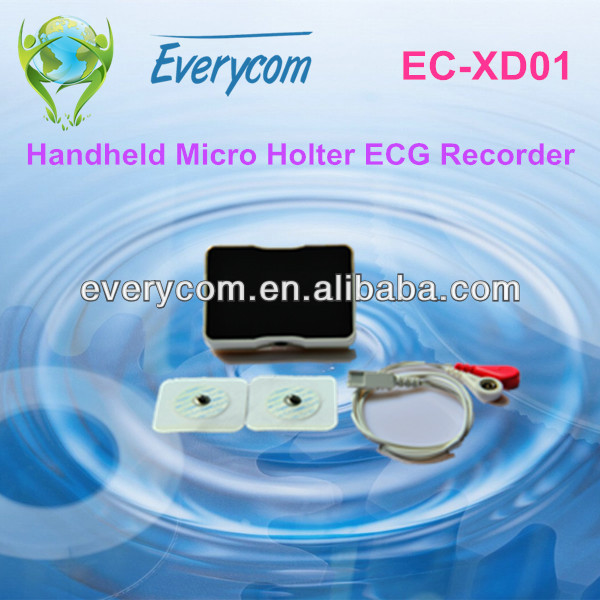 2014 Best Selling DiCare m1C Micro Ambulatory ECG Recorder holter recorder