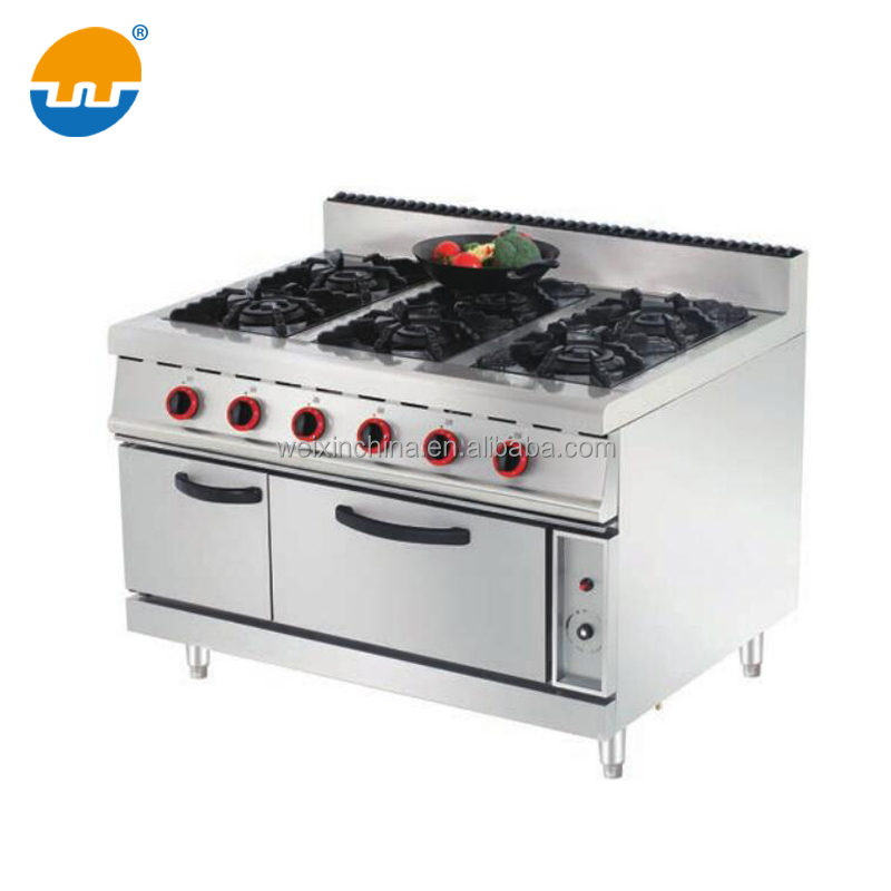 Restaurant Equipment Portable Gas Stove with Griddle