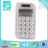 Fupu mini dual power 8 digit calculator electronic calculator