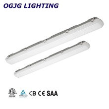 CE CB SAA T8 light fixture led parking lot waterproof ceiling lighting IP65 double tube fluorescent lamp