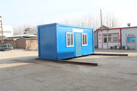 quickly prefab modular motel 20ft reefer iso shipping container for Algeria