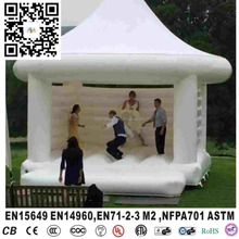 Inflatable white bouncer castle inflatable jumping bouncer tent for party