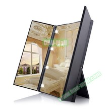 Wholesale Bulk Price Lighted Make Up Pocket Vanity Mirror with LED Lights