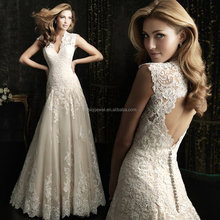 2017 China factory price wedding dress women cloth white dress