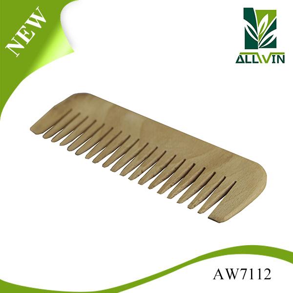 Nature color hair wood comb beard comb wood