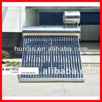 Sistema de calentamiento de agua solar