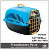 Wholesale Non-toxic PP bright color plastic dog house dog cage pet house